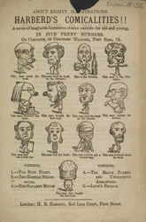 Advert For 'Harberd's Commicalities', Comic